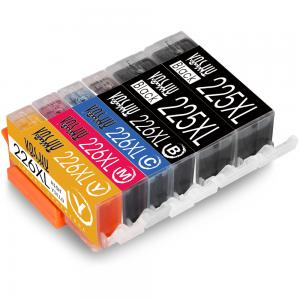 Voshy Compatible Canon PGI-225 CLI-226 XL Ink Cartridges